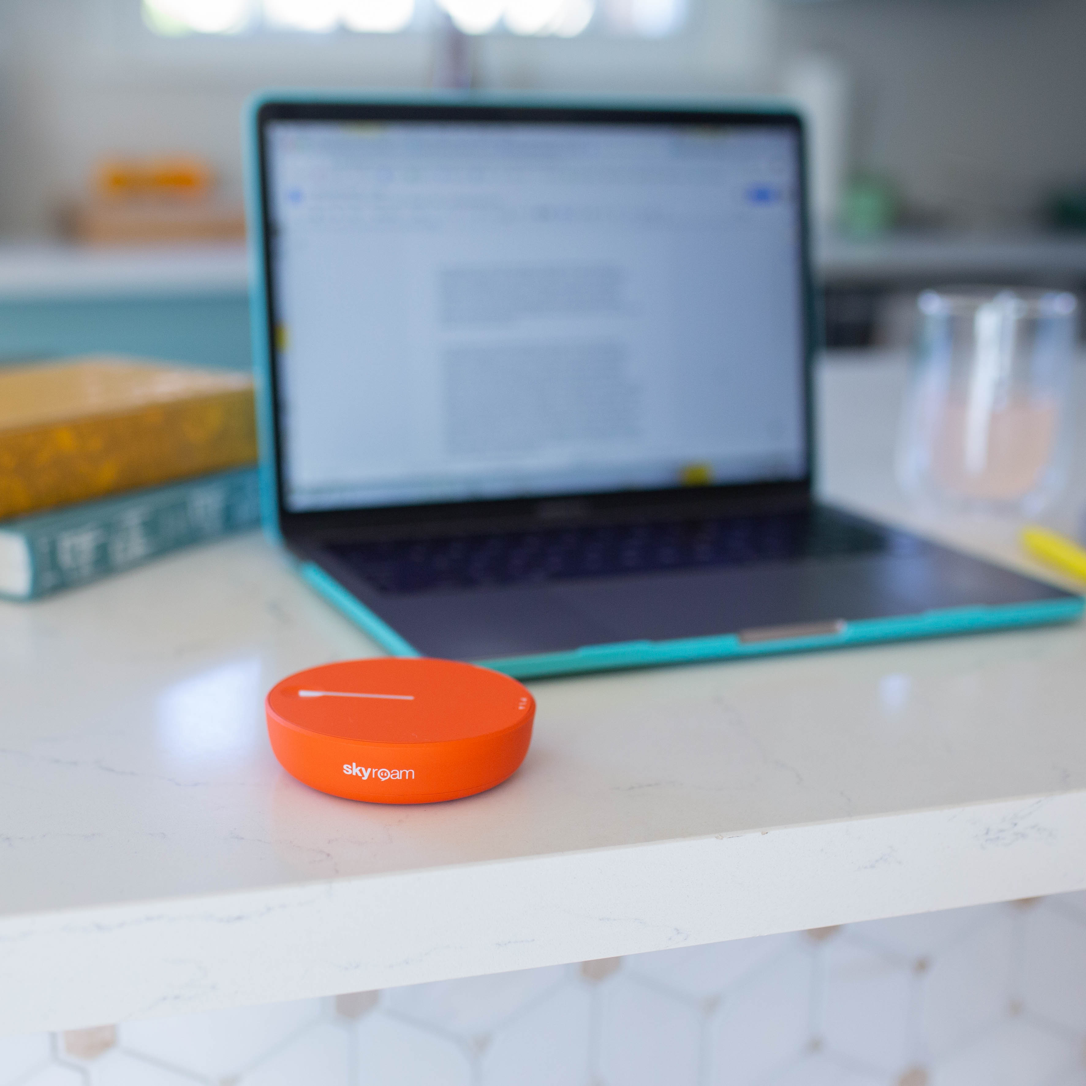Increase productivity and dewire your home office with personal WiFi that goes where you go.