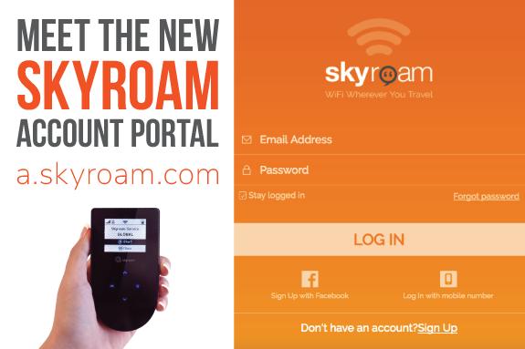 Skyroam_global_WiFi_service_account_portal