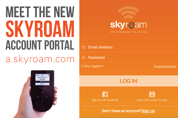 Skyroam_global_WiFi_service_account_portal