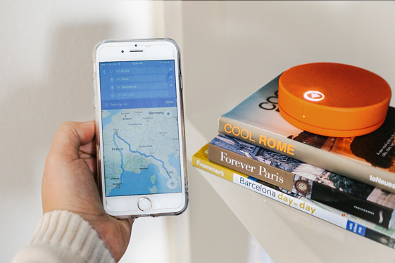Skyroam Solis navigating through international travels