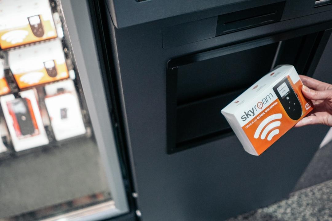 SFO Vending Machine